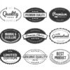 oval stickers printing